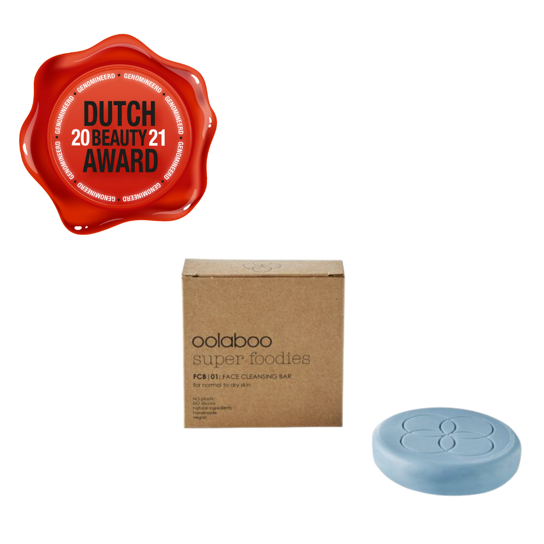 Oolaboo super foodies face cleansing bar 70 gram